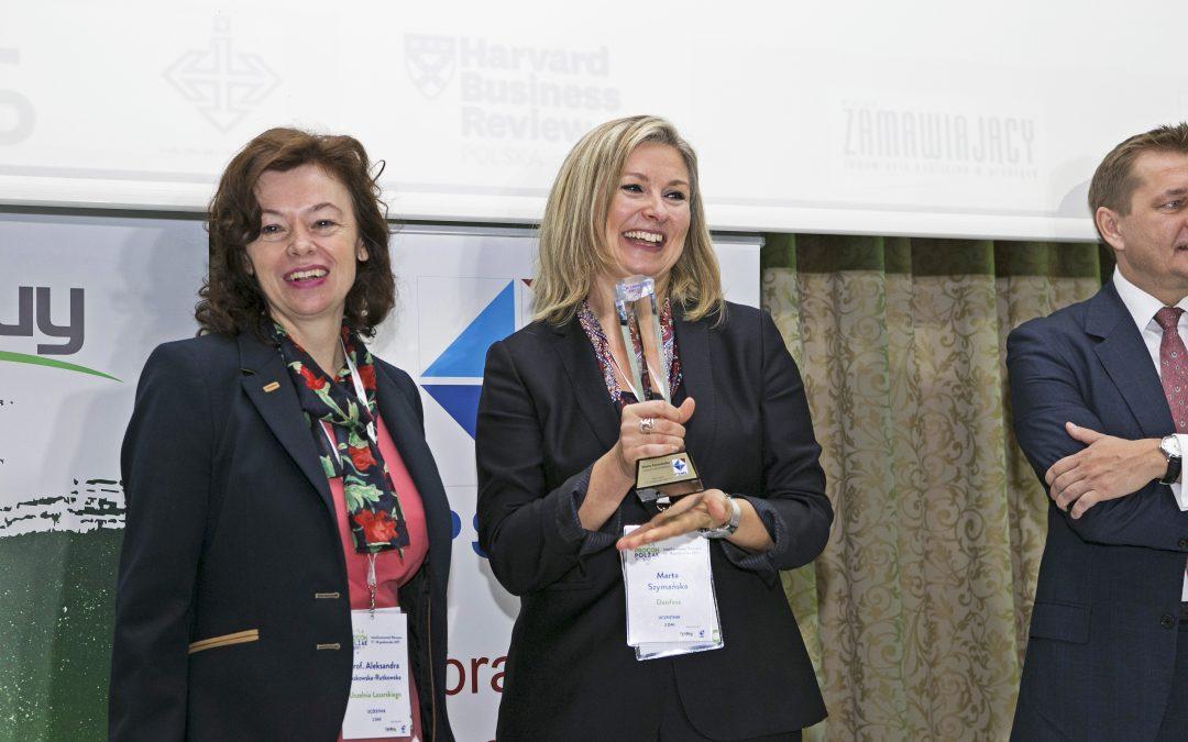 Marta Szymańska z firmy Danfoss LIDEREM ZAKUPÓW 2017