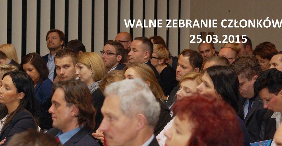 25. marca 2015 – Walne Zebranie Członków