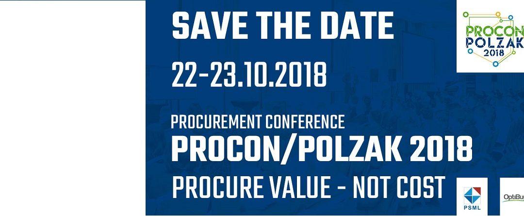 Jubileuszowa edycja PROCON/POLZAK