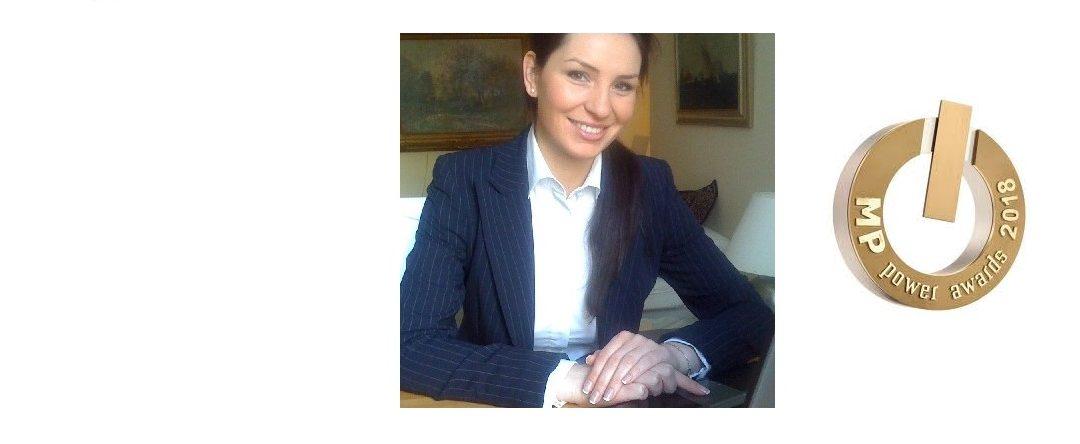 Agnieszka Suliborska z Grupy Polpharma nagrodzona MP Power 12 Awards w kategorii Dział Zakupów