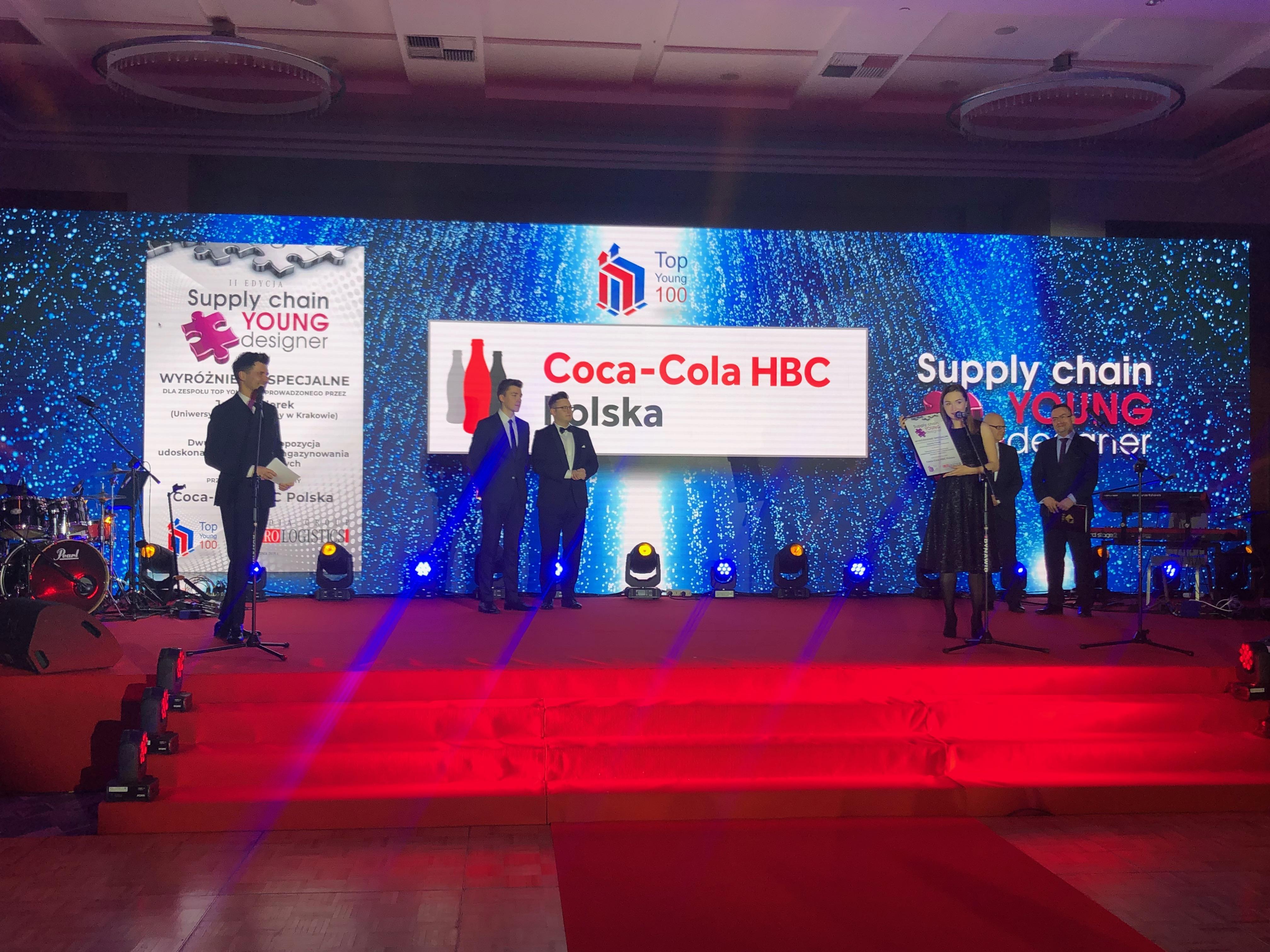 Top Young 100 wyróżniony podczas Gali Logistyki, Transportu i Produkcji 2019