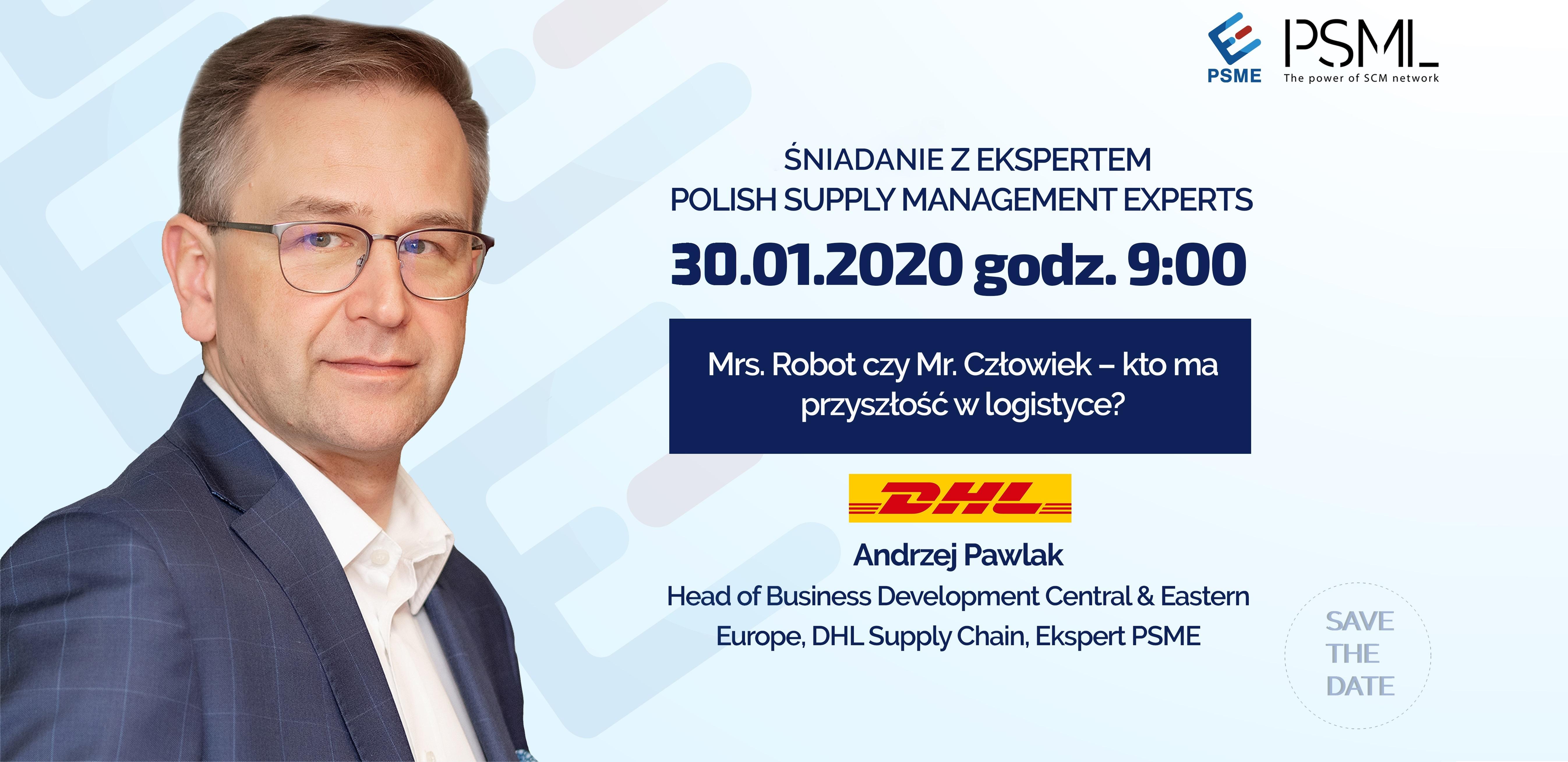 Mrs. Robot czy Mr. Człowiek – kto ma przyszłość w logistyce?
