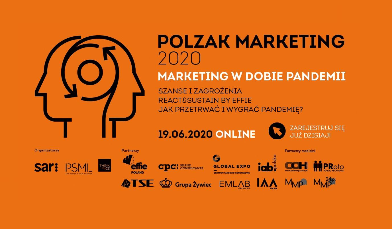Otwieramy zapisy na POLZAK Marketing! Wydarzenie w formie online!