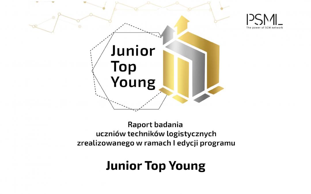 Raport badania Junior Top Young 100 – Logistyka (nie) przez przypadek
