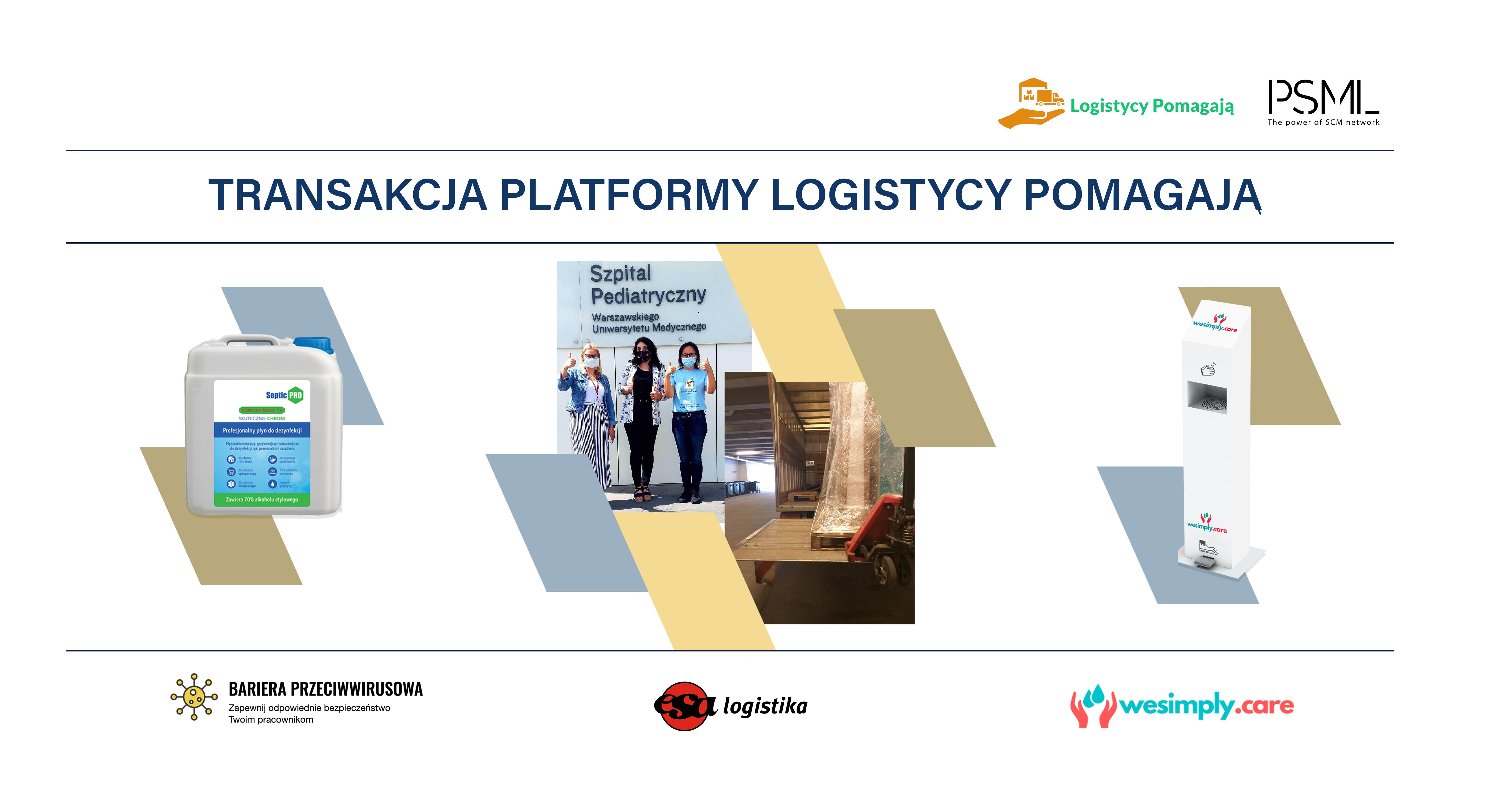 Sukces platformy logistycy pomagają!