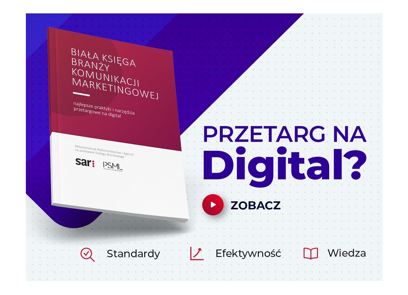 Biała Księga Digital – ostatnia publikacja w ramach  Dialogu Branżowego już dostępna