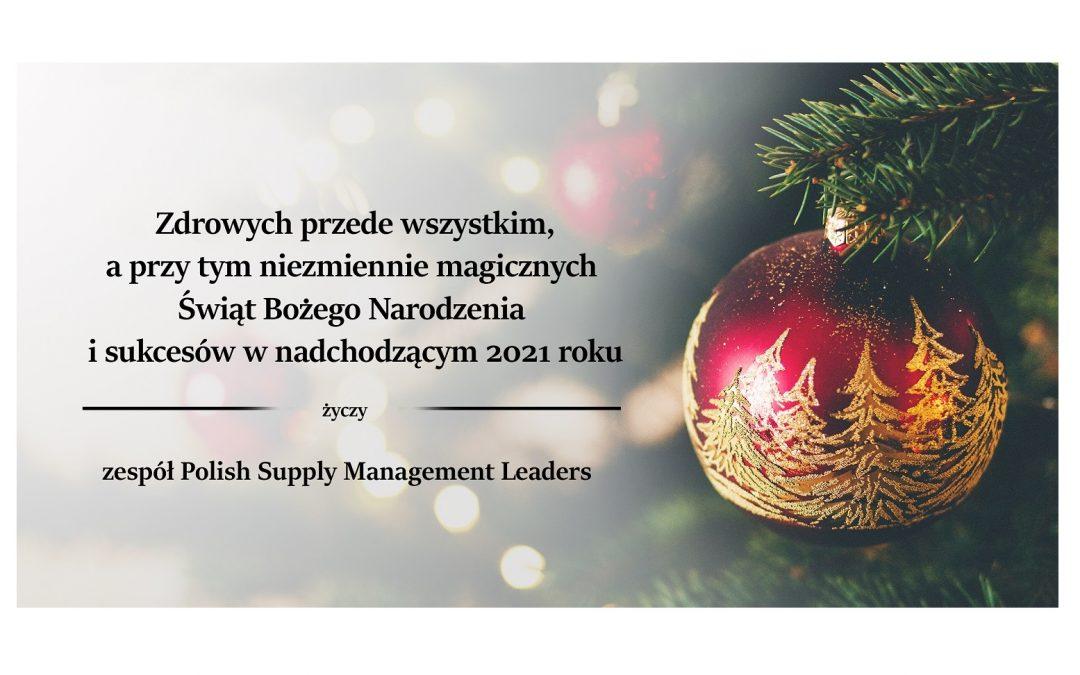 Wesołych Świąt od zespołu Polish Supply Management Leader