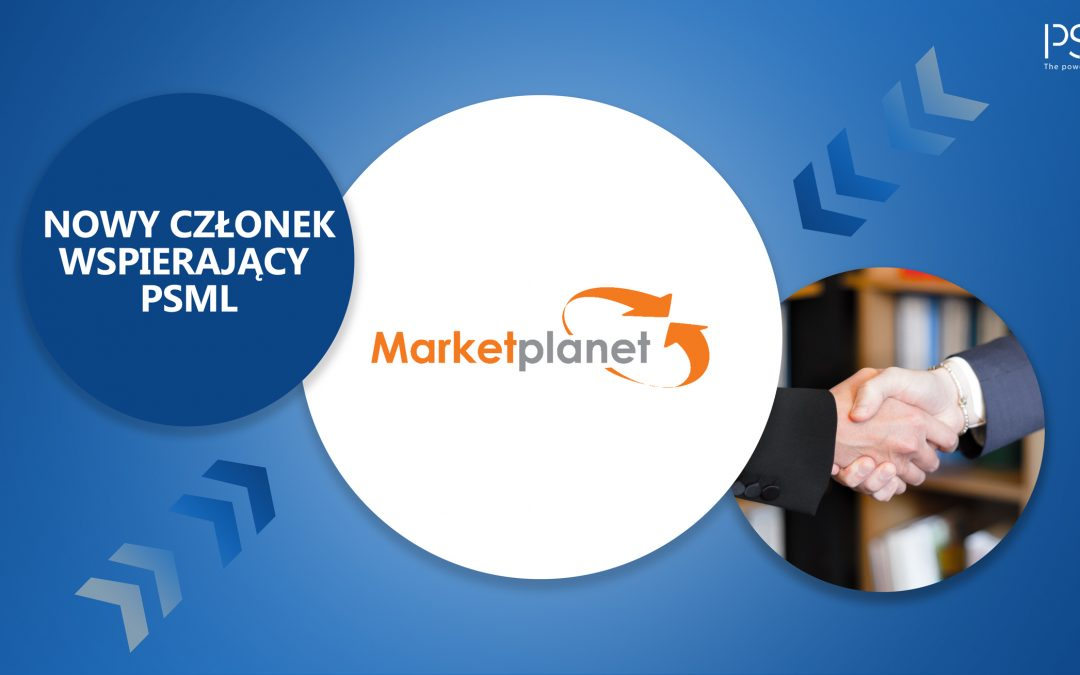 Nowy Członek Wspierający PSML – Marketplanet