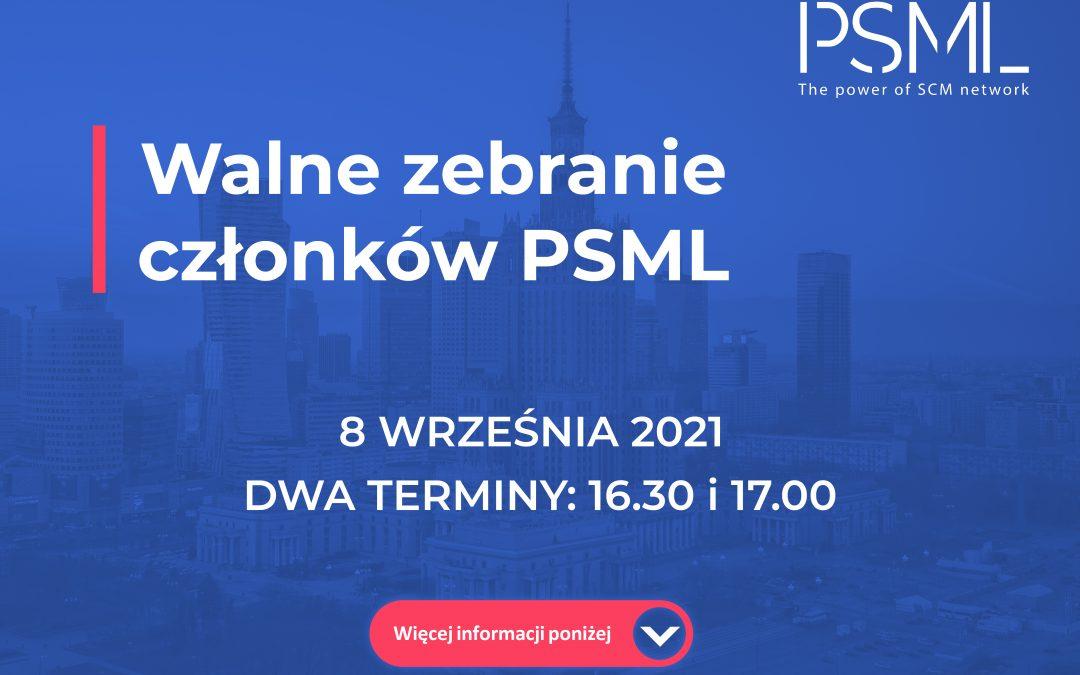 Walne Zebranie Członków PSML 8 września 2021r.