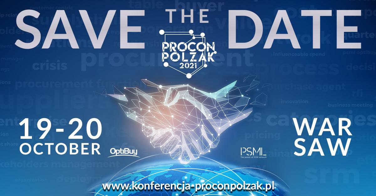 NEW PROCUREMENT: Partnering to create value – PROCON/POLZAK 2021
